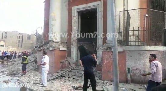 مصر إنفجار بمحيط القنصلية الإيطالية بوسط البلد
