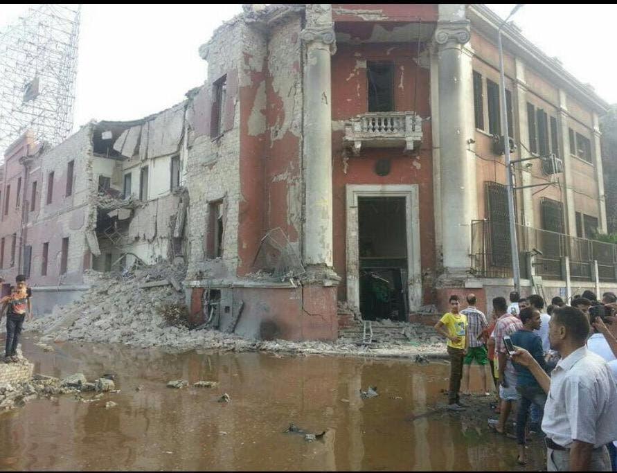 انفجار القاهرة القنصلية الإيطالية