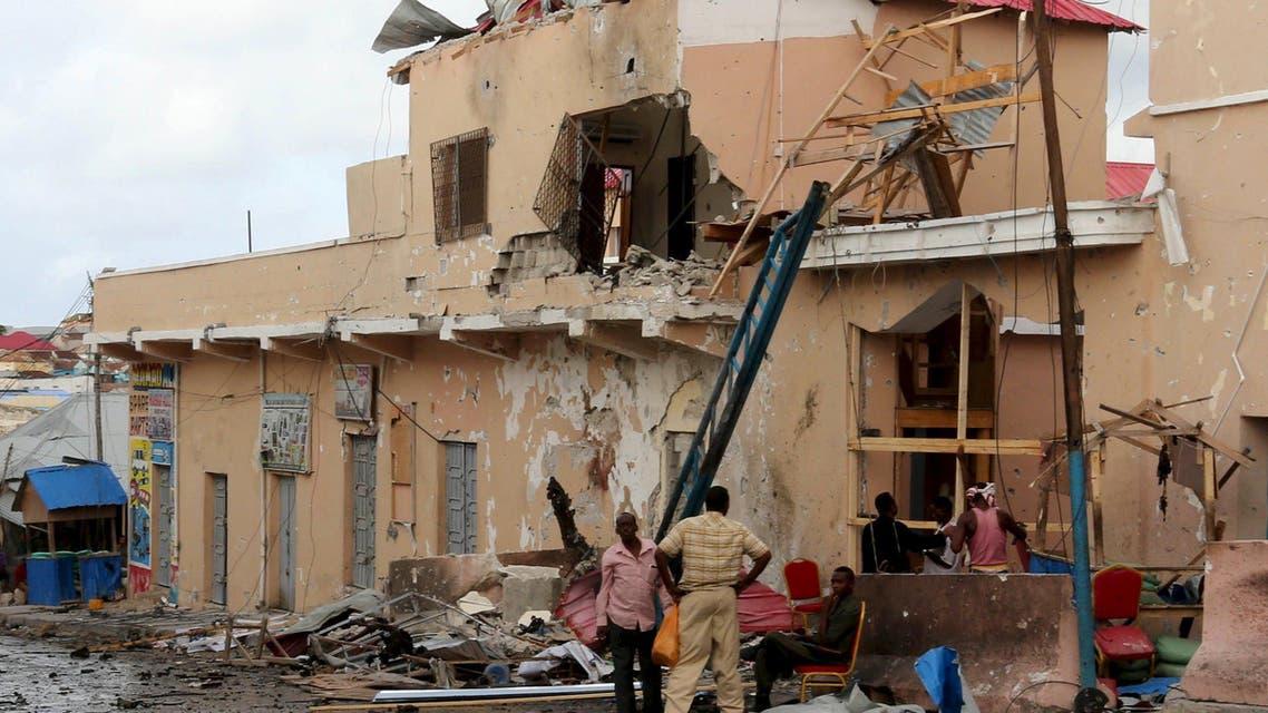 انفجار في مقديشو الصومال