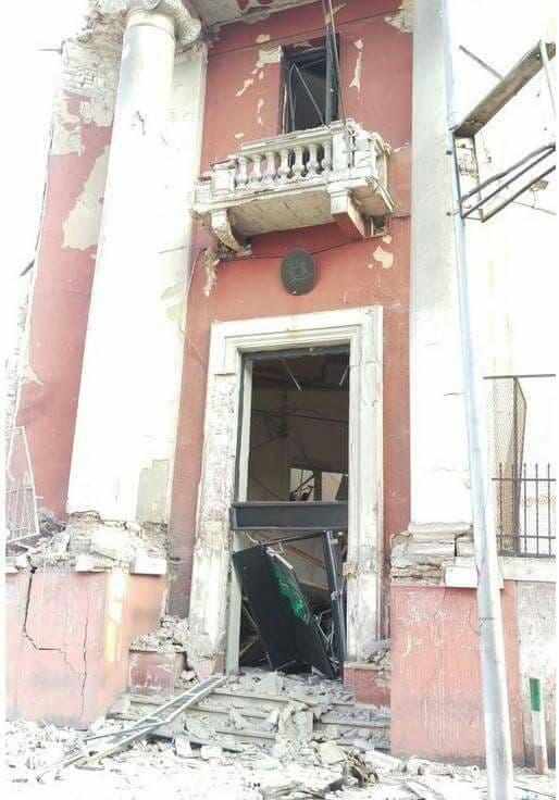 انفجار يستهدف القنصلية الإيطالية في القاهرة 2