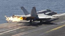 U.S.-led warplanes strike ISIS targets in Syria, Iraq