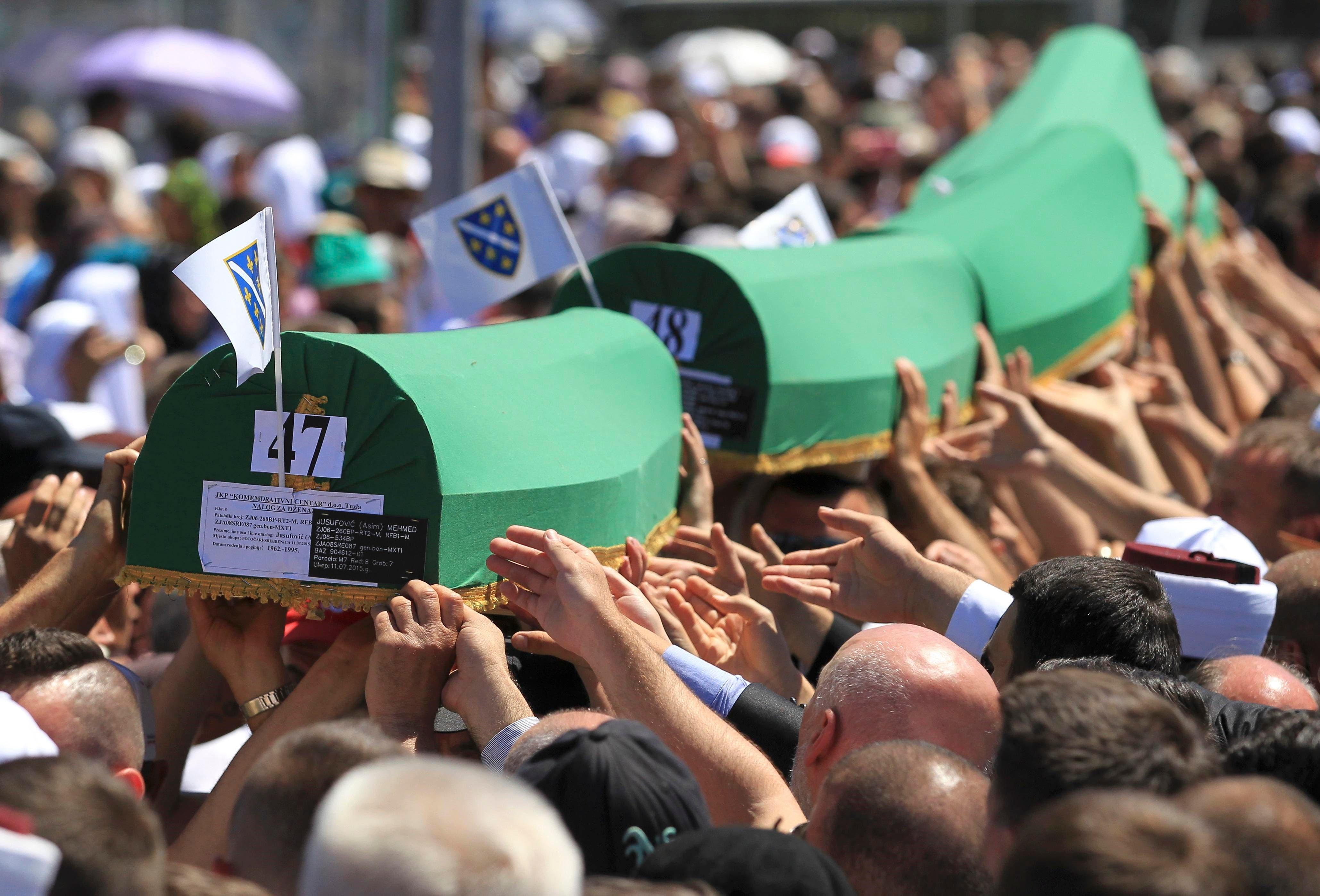 Tens of thousands commemorate Srebrenica massacre