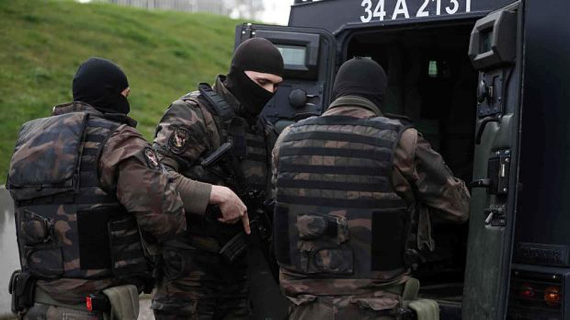 turkish security forces