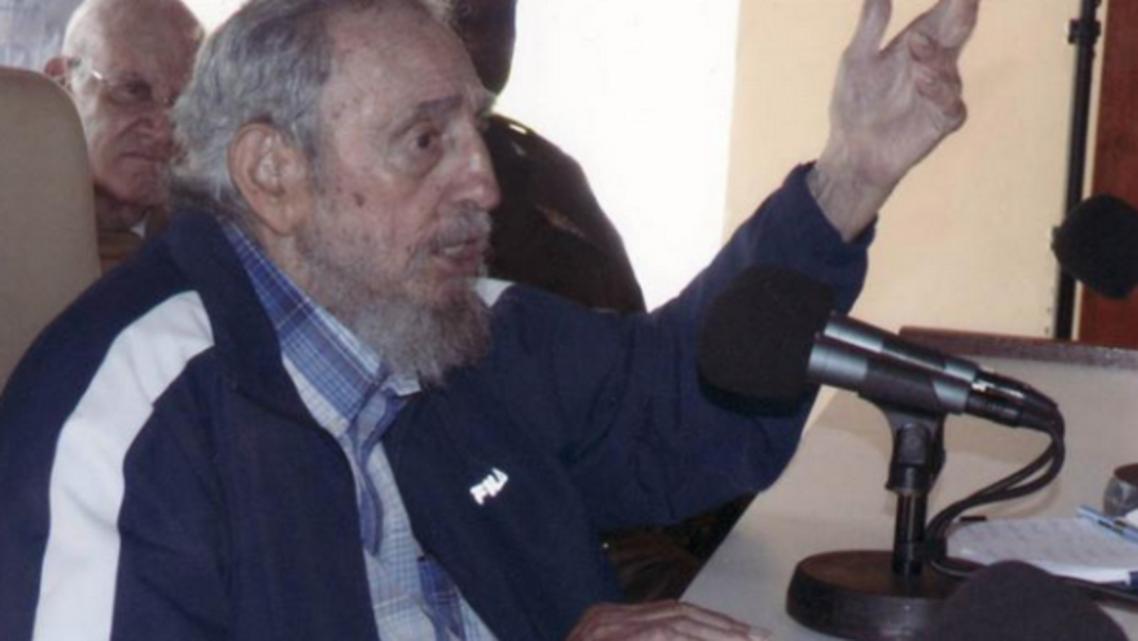 الرئيس الكوبي السابق فيدل كاسترو
