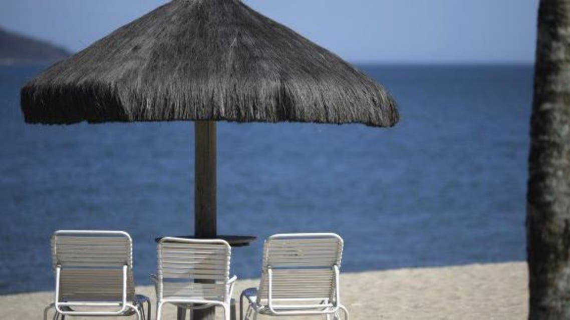 A private beach at the Portobello Resort, Mangaratiba, March 11, 2014. REUTERS/Ricardo Moraes