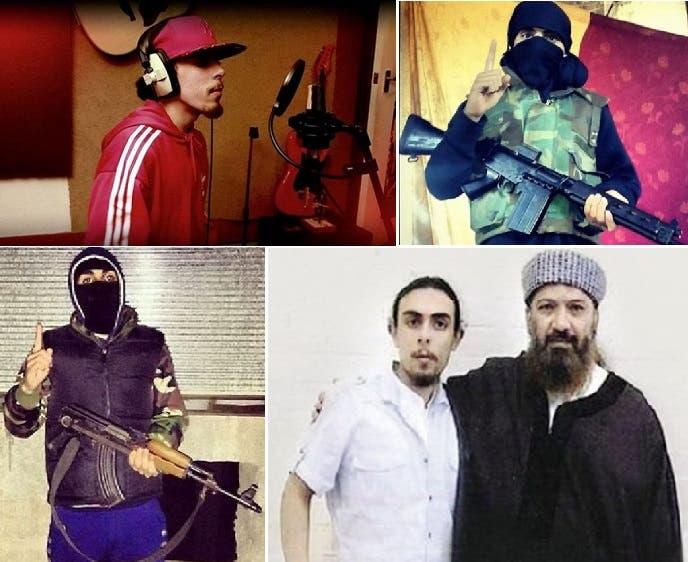 الداعشي الندمان، مطربا في لندن، ومسلحا مع داعش، ومع أبيه المدان بالسجن 25 سنة في أميركا
