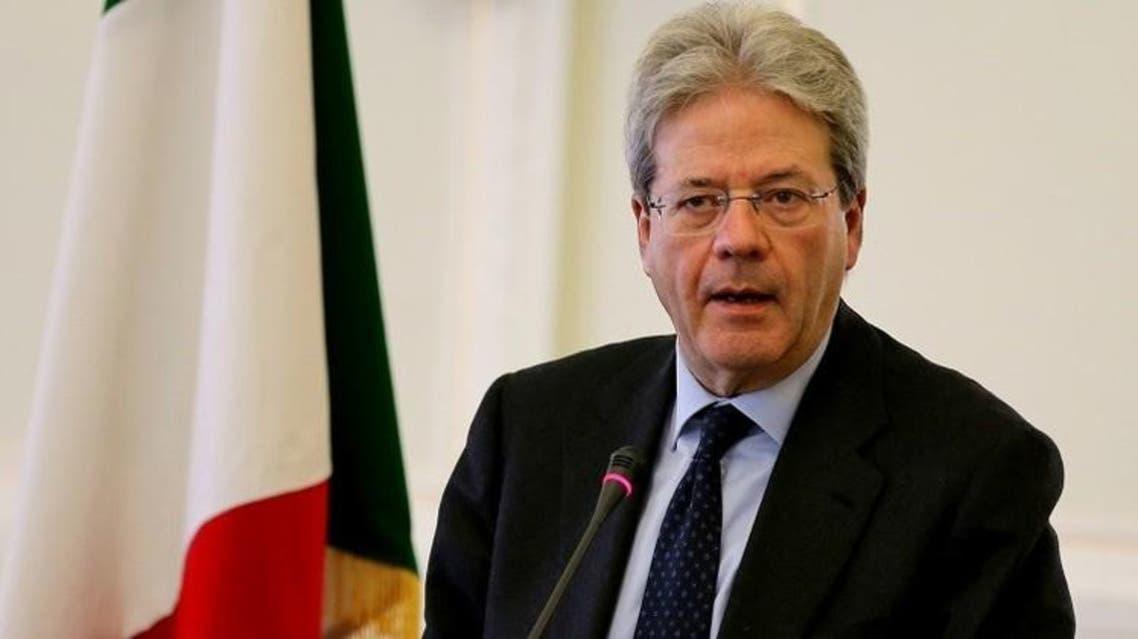 وزير خارجية إيطاليا باولو جينتيلوني
