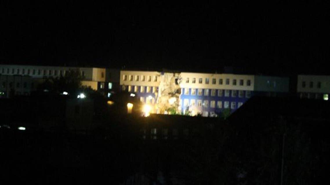 انهيار في ثكنة عسكرية للجيش الروسي في سيبيريا