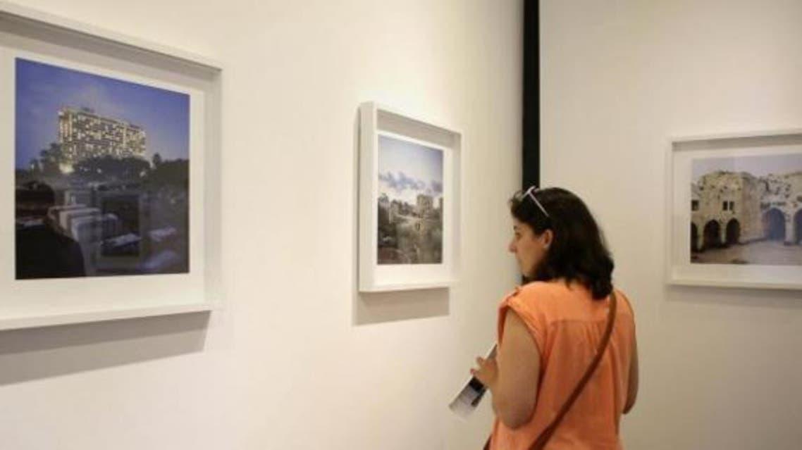 معرض الغائبون رام الله صور
