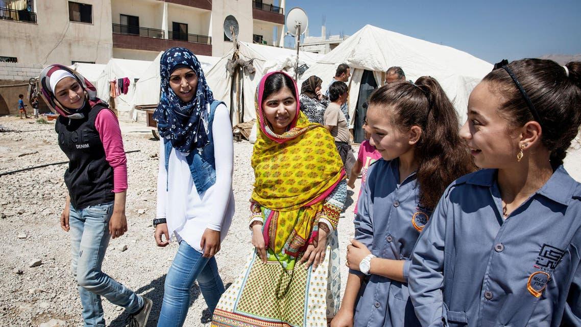 Malala Fund. AP