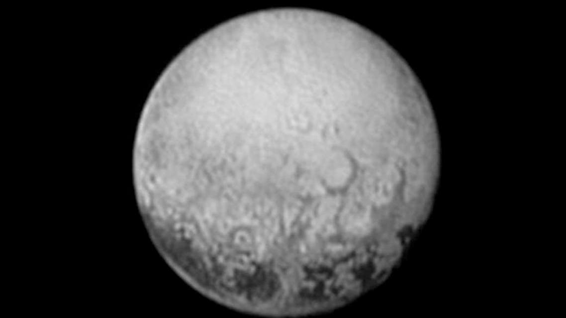 This July 11, 2015, image provided by NASA shows Pluto from the New Horizons spacecraft. On Tuesday, July 14, NASA's New Horizons spacecraft will come closest to Pluto. AP
