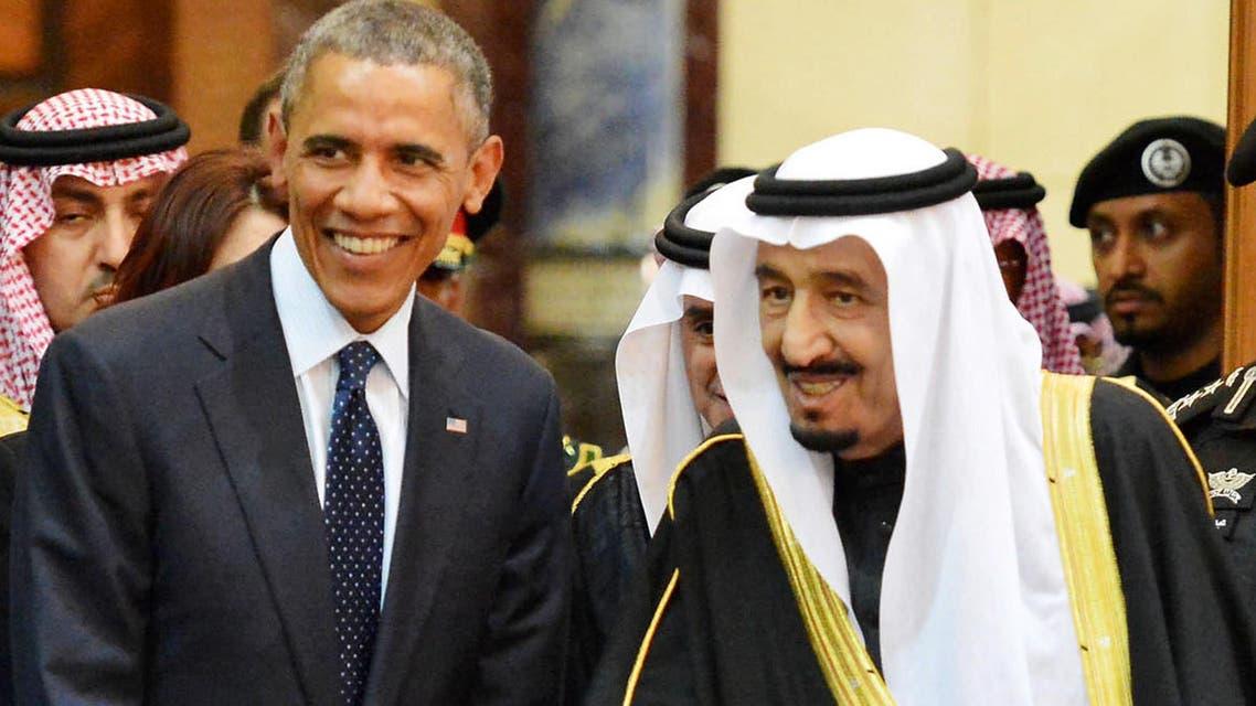 الملك سلمان اوباما