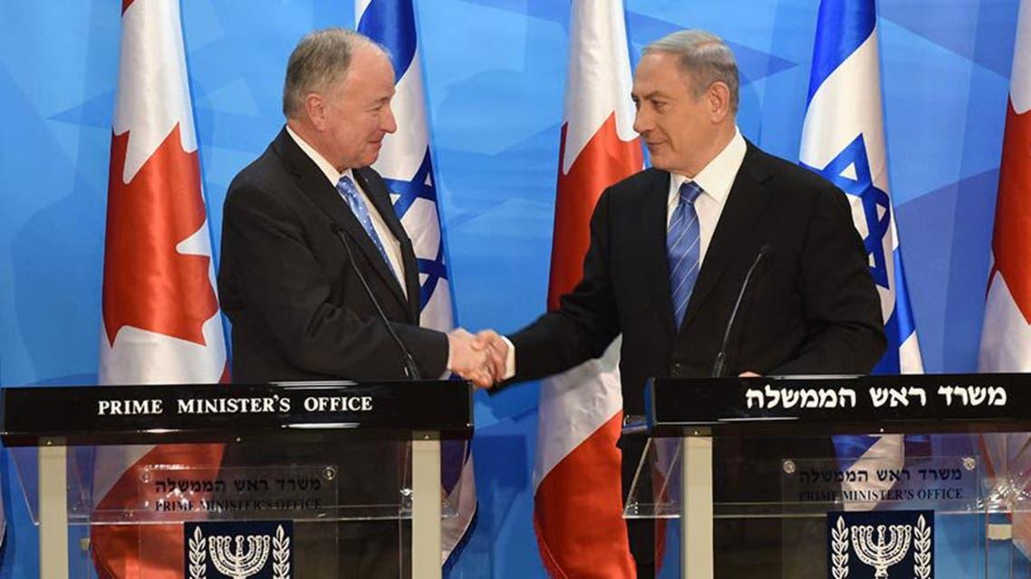 وزیر خارجه کانادا با نتانیاهو
