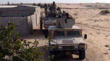 مقتل 53 مسلحاً باليوم السابع لحملة الجيش المصري بسيناء