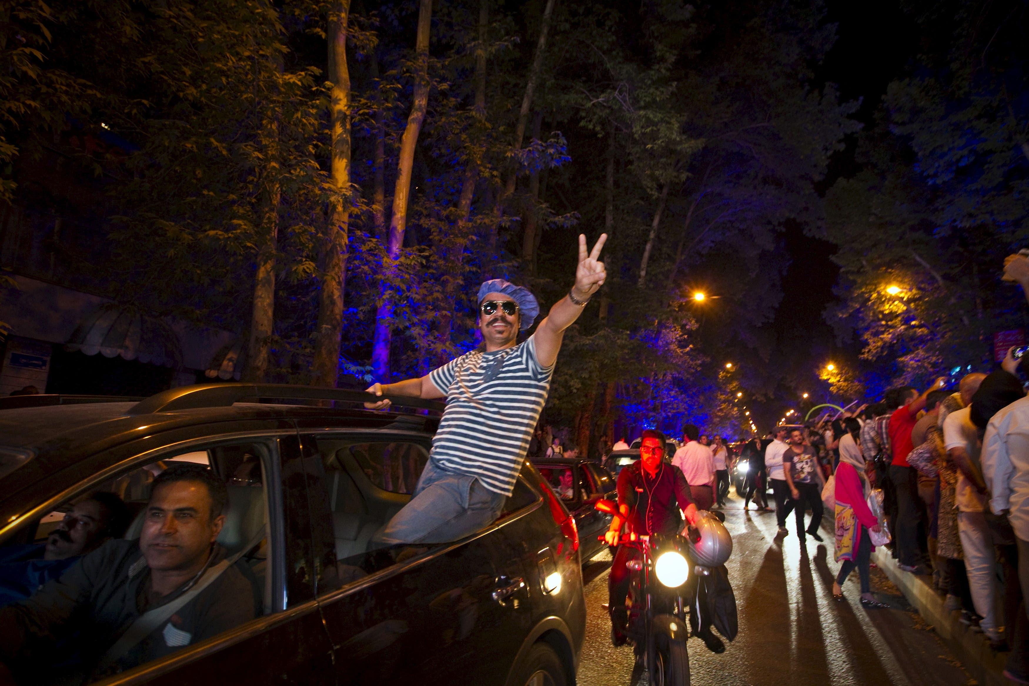 Iran celebrates nuclear deal