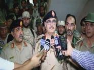 حفتر ينتقد المادة الثامنة من الاتفاق السياسي الليبي