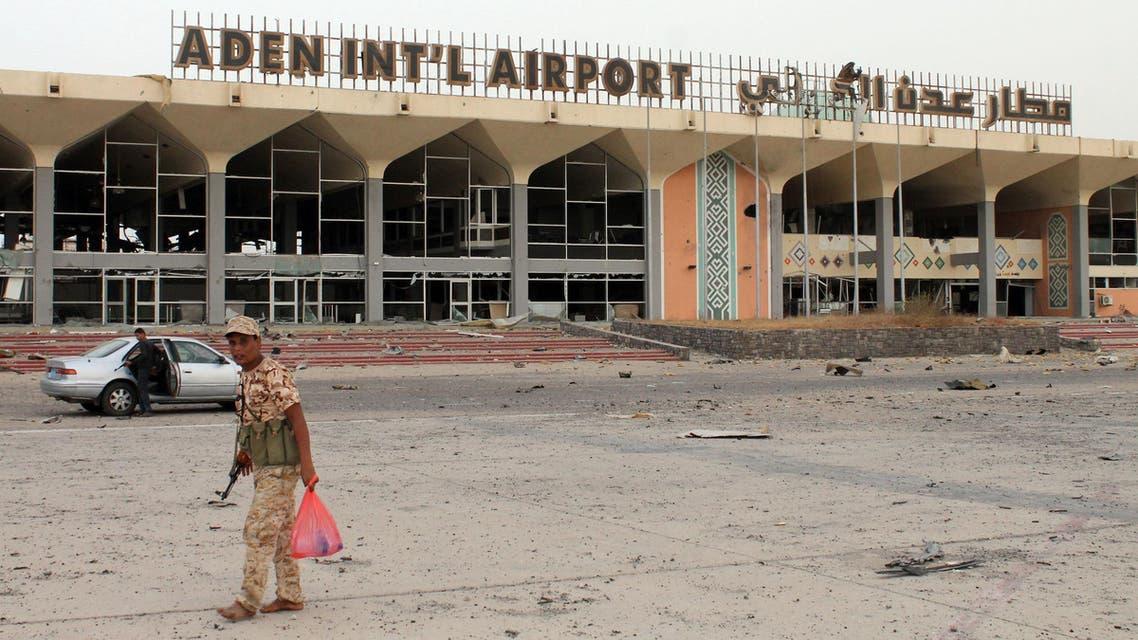 مطار عدن (أرشيفية)