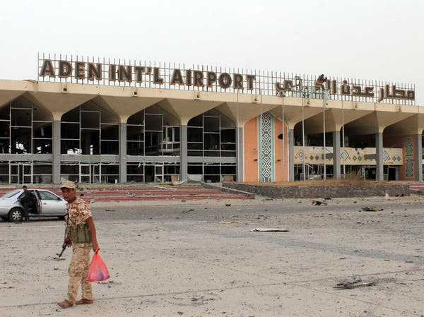 اليمن: إعادة فتح مطار عدن مع هبوط طائرة عسكرية سعودية