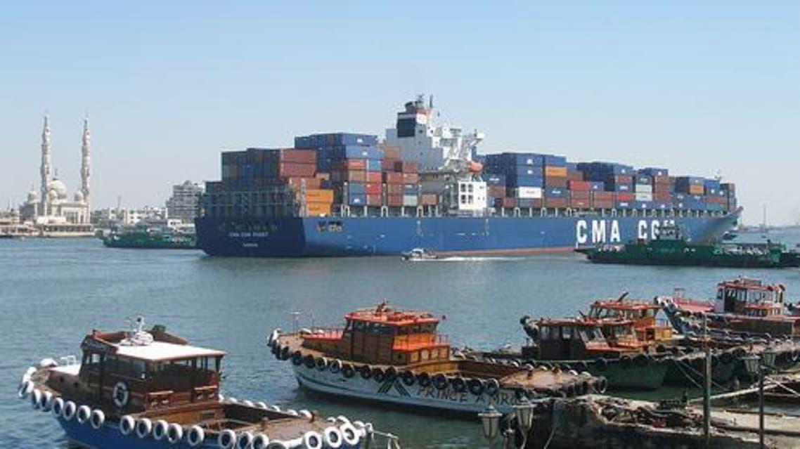 مصر نقل شحن قناة السويس تجارة استيراد تصدير