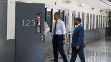 Obama becomes first U.S. president to visit prison