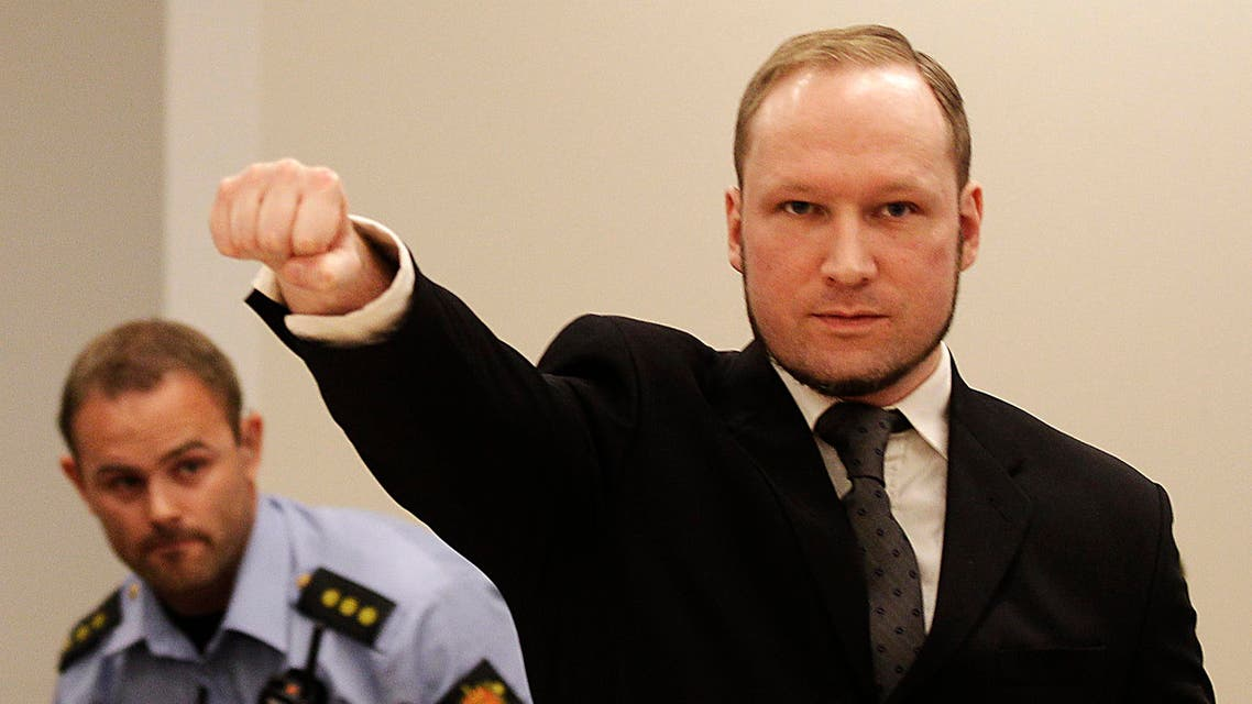 Anders Behring Breivik, a right-wing extremist is serving 21 years in prison for killing 77 people in politically motivated bomb-and-gun massacres in 2011. (File: AP)