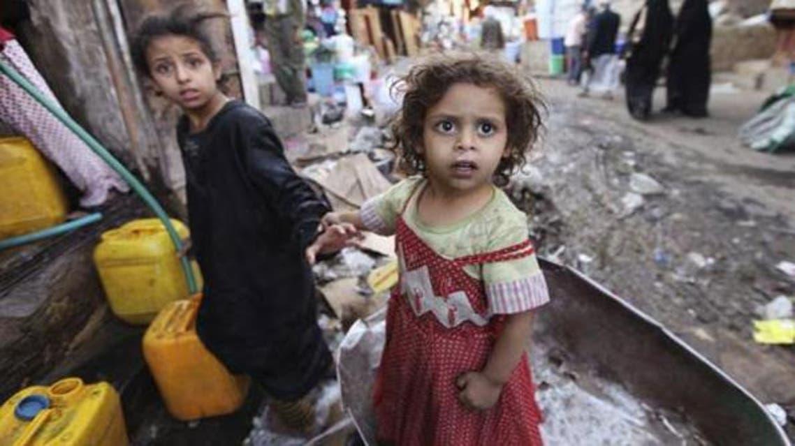 الجوع والفقر في اليمن