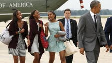 They'll take Manhattan: Obama, daughters explore New York