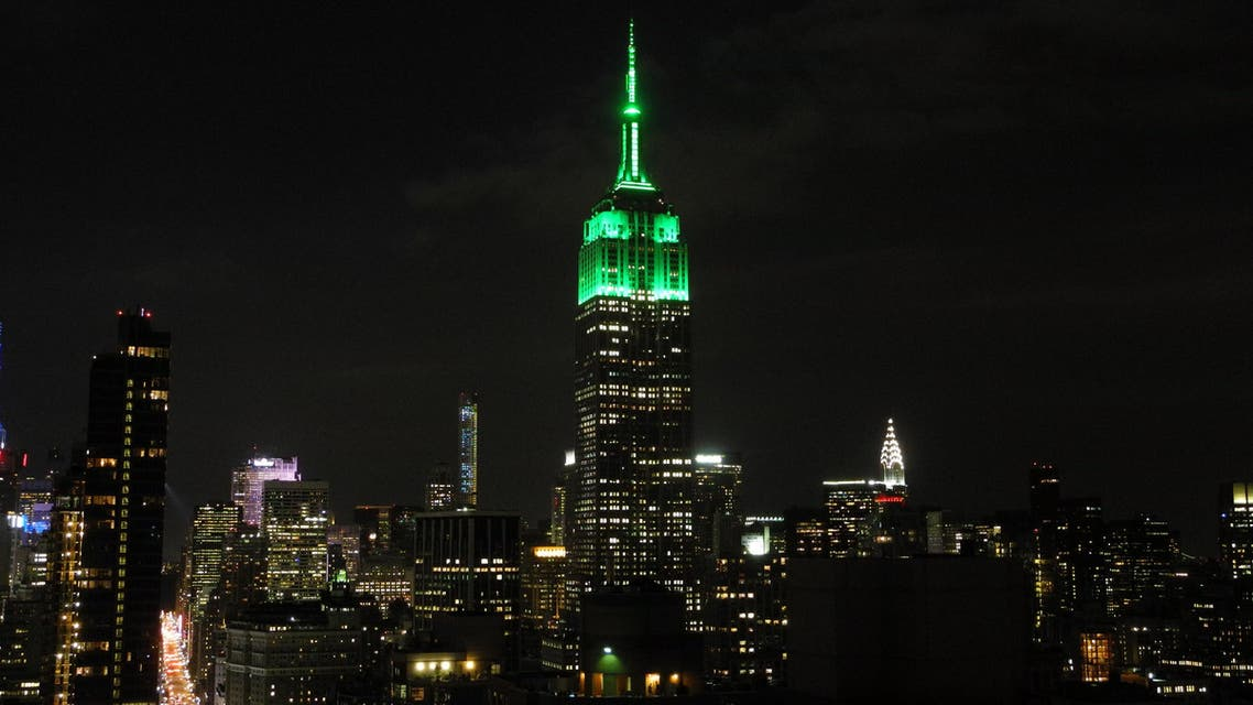 The international icon of the New York skyline has maintained a tradition of changing color to recognize various occasions throughout the year. (Photo courtesy: Empire State Building New York City website)