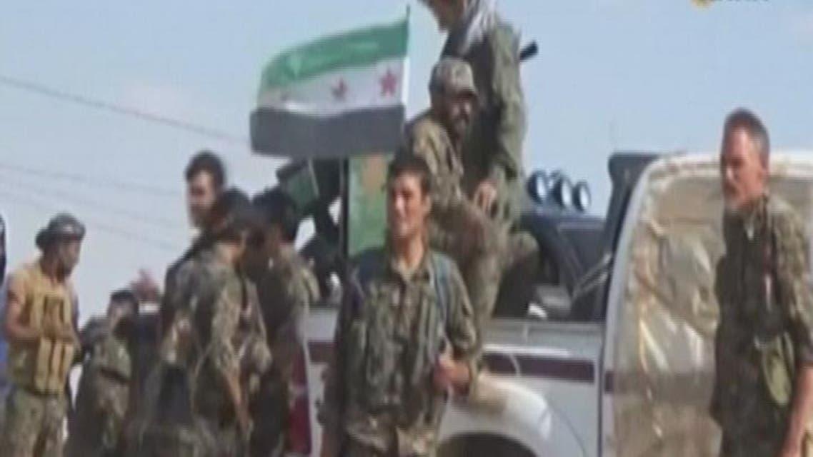 THUMBNAIL_ الجيش الحر يقصف معاقل النظام ردا على قصف مدنيي درعا