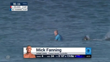 Footage captures moment pro-surfer attacked by shark