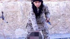 ISIS films child carrying out a beheading for 'first time'