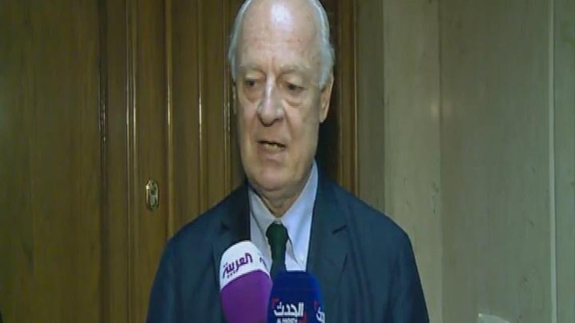 THUMBNAIL_ دي ميستورا: مجلس الأمن يبحث الأزمة السورية في 29 يوليو