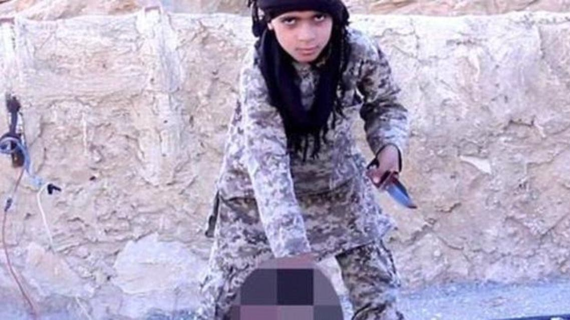 داعش أطفال اعدام