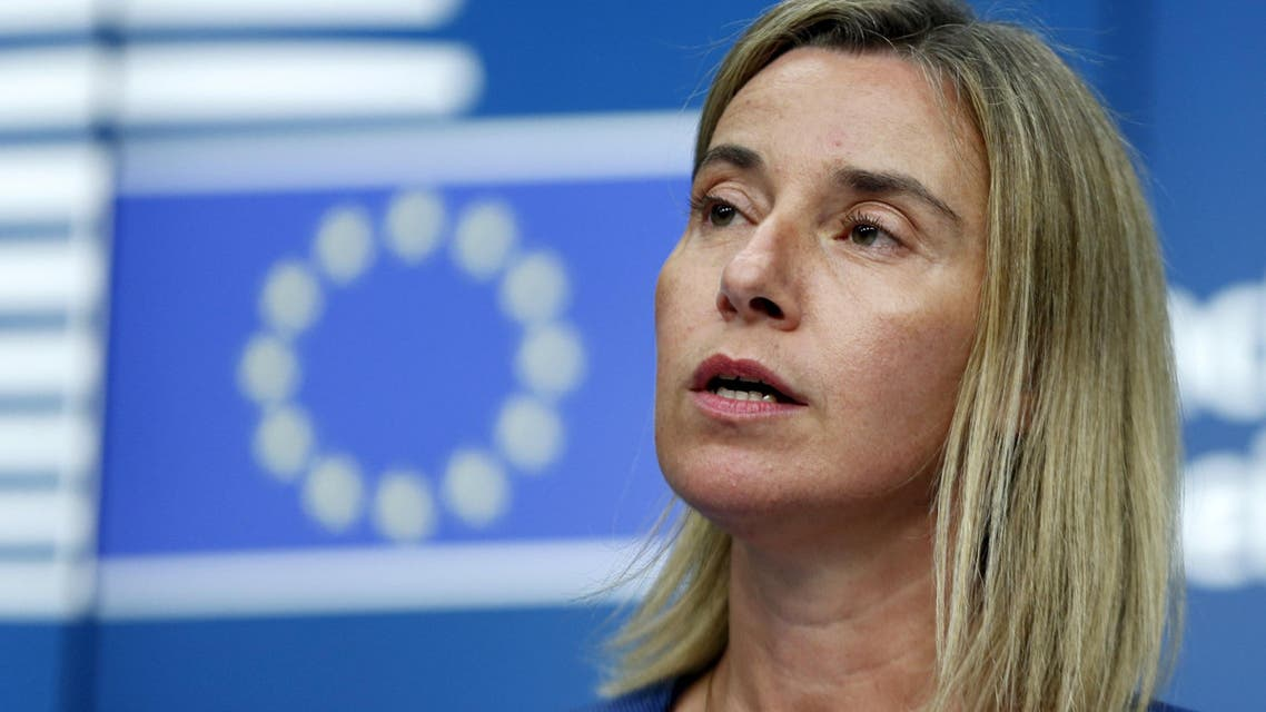 وزيرة خارجية الاتحاد الأوروبي، فيديريكا موغيريني