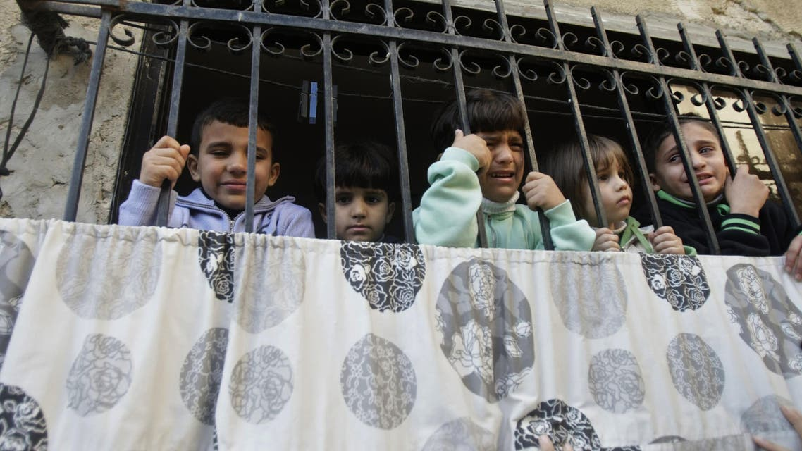 Israel children - AP