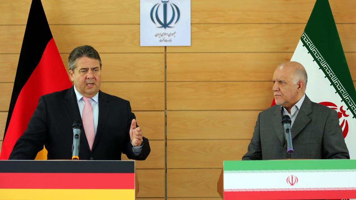ألمانيا إيران