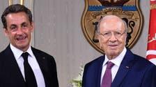 """ساركوزي يزور تونس لدعم """"معركة الحضارة ضد الوحشية"""""""