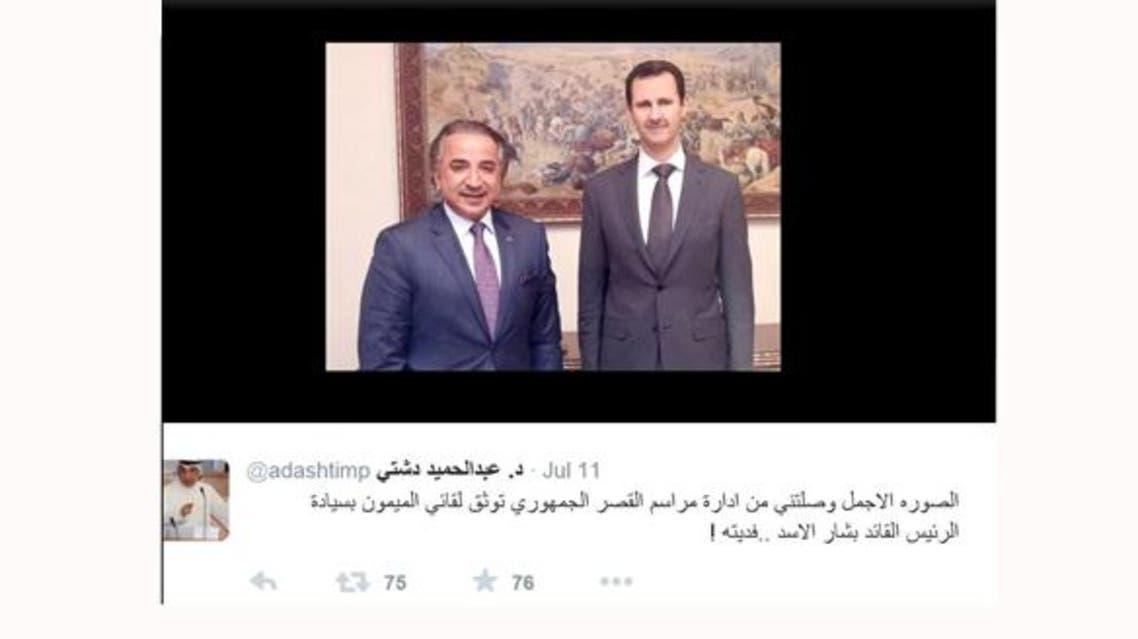 نائب كويتي يرد تحية حسن نصرالله ويفدي الأسد