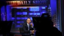 Obama pitches Iran deal to vets, Daily Show's Stewart