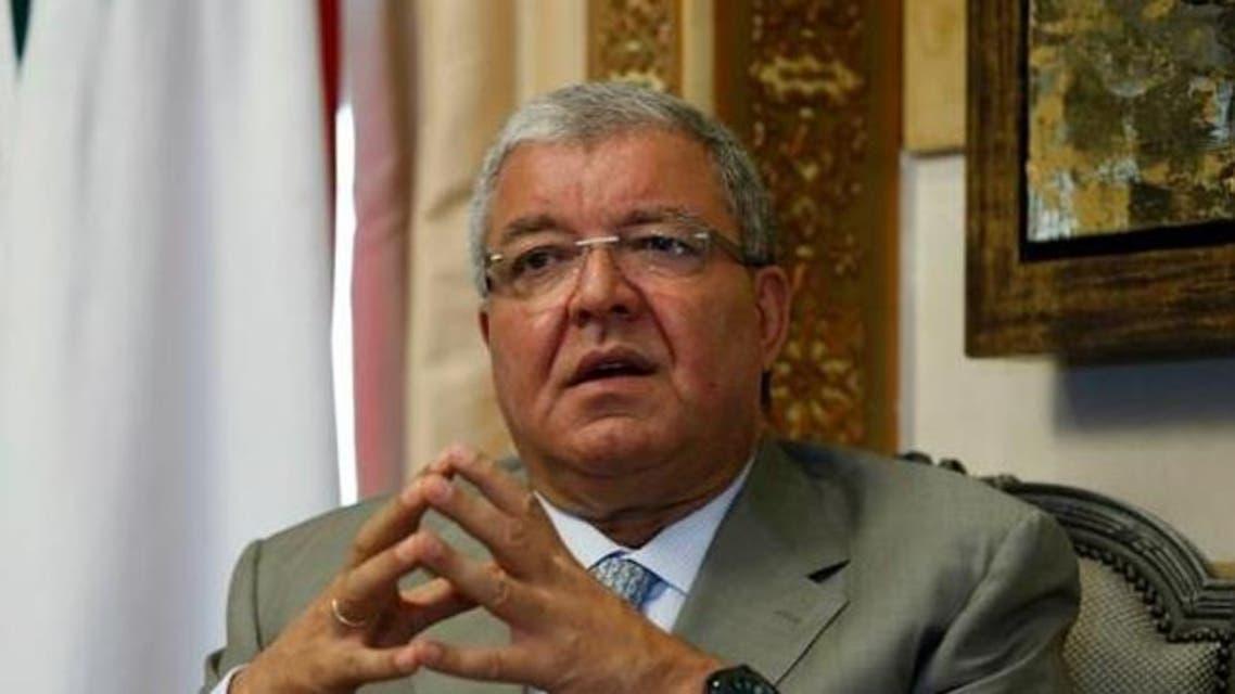 reuters nouhad Mashnuq lebanon interior minister