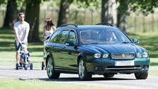 Impatient Queen Elizabeth drives on grass to get to mass on time