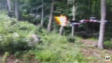 Teenager's video of gun-firing drone spurs investigation