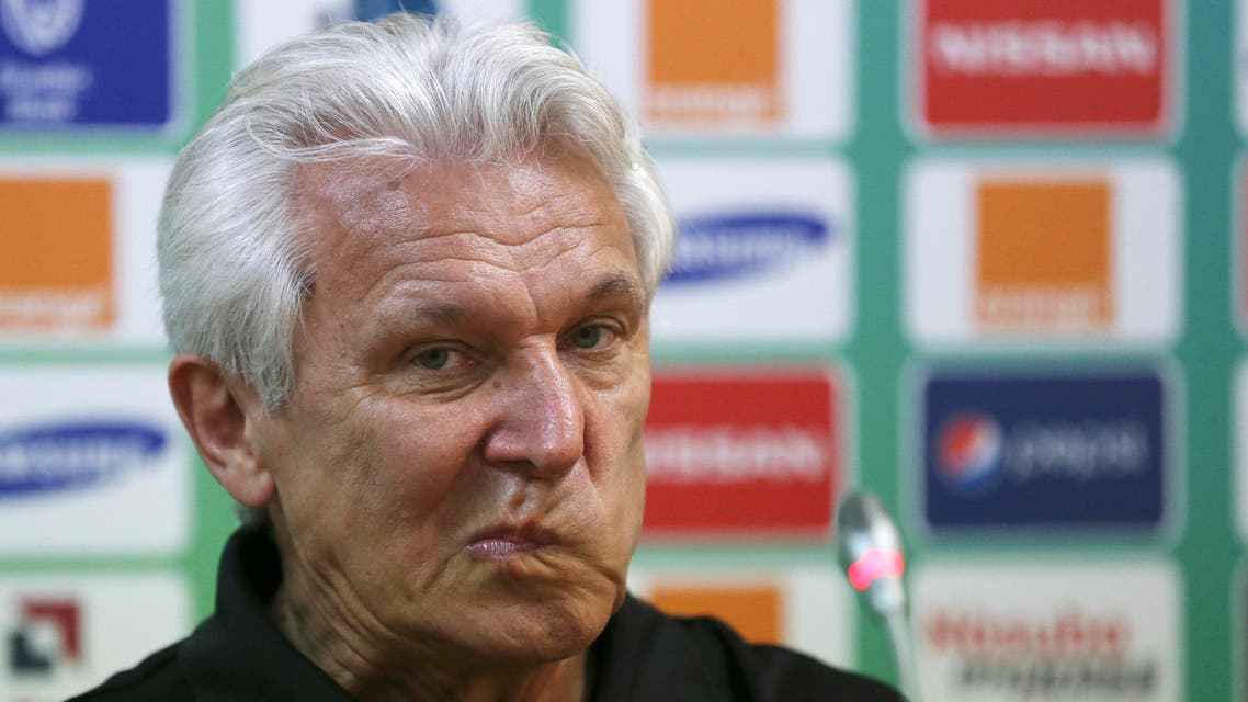 Malian national team soccer coach Henryk Kasperczak attends a news conference ahead of their Group D Match on Saturday against Ivory Coast at Estadio De Malabo in Malabo, Equatorial Guinea, Friday, Jan. 23, 2015. AP