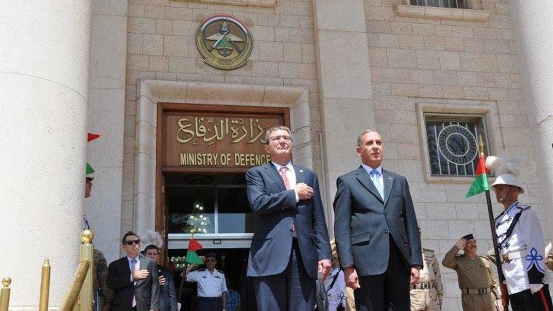 وزير الدفاع العراقي ونظيره الامريكي