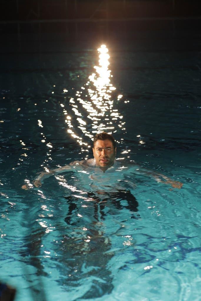 مشهد في المسبح لوائل