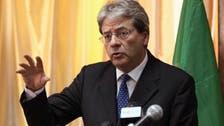 رئيس إيطاليا يكلف وزير الخارجية بتشكيل حكومة جديدة