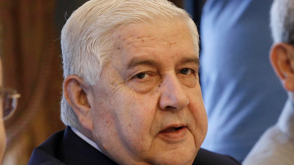 Syrian Foreign Minister Walid Muallem attends the working breakfast of the Foreign Ministers of the neighboring countries of Iraq in Istanbul,Turkey on Saturday Nov. 3, 2007. (AP)
