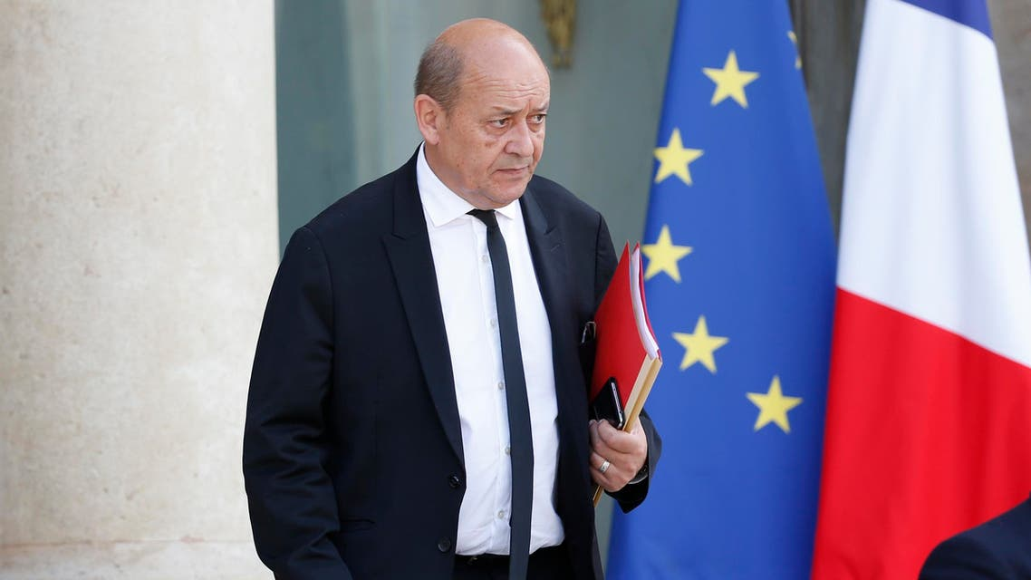 Le Drian, who is currently on a tour of Africa, is to hold talks with Egypt's President Abdel Fatah al-Sisi and other Egyptian officials during his trip. (Reuters)