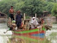 وفاة 36 شخصاً في فيضانات وأمطار غزيرة في باكستان