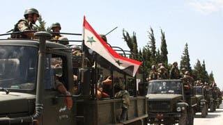 النظام السوري يعلن تسريح ضباط التحقوا بجيشه منذ 5 سنوات